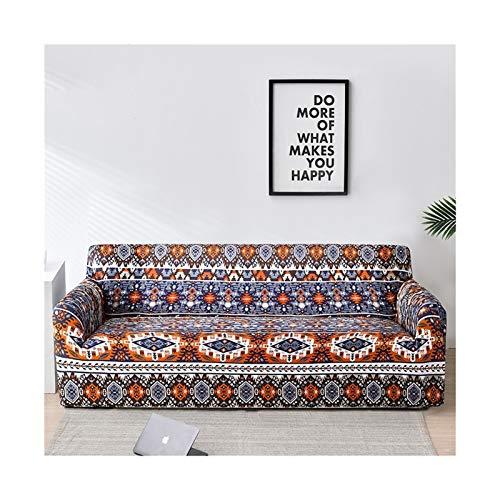 Cubierta de sofá de estiramiento, sofá elásticos Cubiertas para sala de estar, Sofá Muebles Protector Fundas Sofás Con Chaise Longue 1pc ( Color : Color 29 , Specification : 3 seater 190 230cm )
