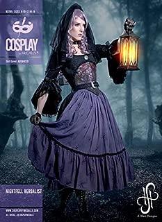 McCalls M2110 Cosplay Nightfell Herbalist Costume Sewing Pattern Sizes Misses 8-16