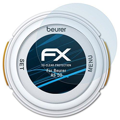 atFoliX Schutzfolie kompatibel mit Beurer AS 50 Folie, ultraklare FX Bildschirmschutzfolie (3X)