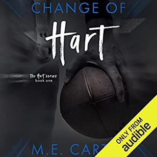 Change of Hart audiobook cover art