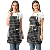 2-Pack Koorhiere Adjustable Cooking Kitchen Apron