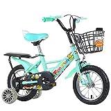 GTD-RISE Bicicleta niño Bicicleta Infantil Niños Niñas Bicicletas, con Frenos de Las Ruedas de...