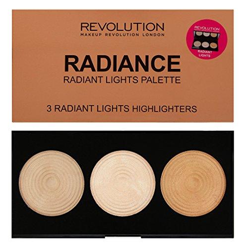 Makeup Revolution London Makeup Revolution Highlighter Palette Radiance, 15g