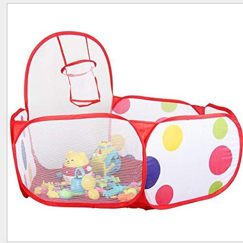 ZHEBEI Ambiental tienda de campaña pozo piscina bola tienda plegable niños bebé juguete casa de juego