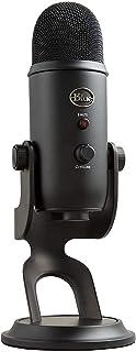 Blue Yeti USB Microfoon voor Opname, Streaming, Gaming, Podcasting, Condensator-Mic voor Laptop of Computer, PC en Mac, Bl...