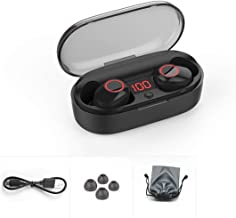 Dalkeyie J29 in-Ear Wireless Headset 5.0 Stereo with Charging Box Headphones Business Call Sports Running Headphones