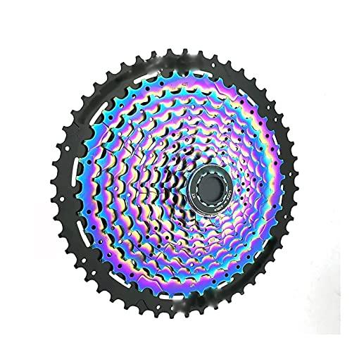 XCSM Bicicleta De Montaña 11 Velocidades 11-50T Cassette Rainbow MTB Bicicleta 11S 50T Rueda Dentada para S-himano XT M8000
