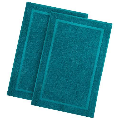 alfombrilla baño verde fabricante Cotton Craft