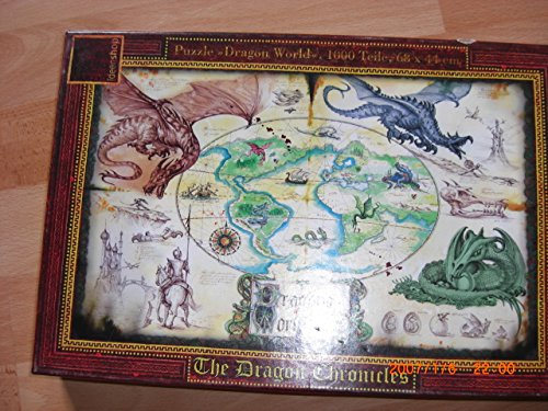 Puzzle - Dragon World 1000 Teile - The Dragon Chronicles