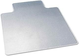Deflecto DuraMat Chair Mat for Low-Pile Carpet, Wide Lip, 45