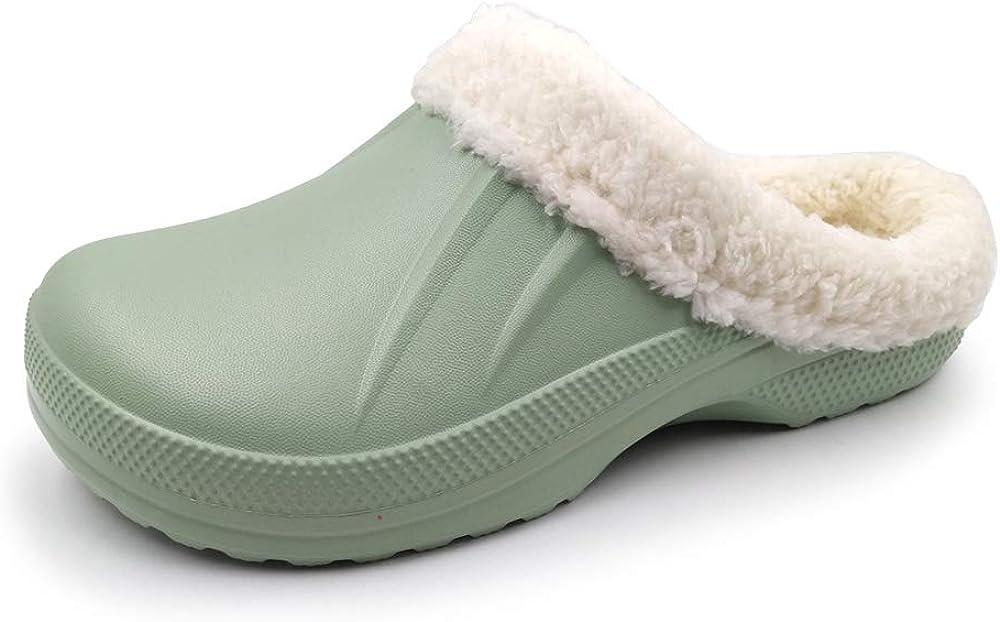 Amoji Slippers House Home Clogs Shoes