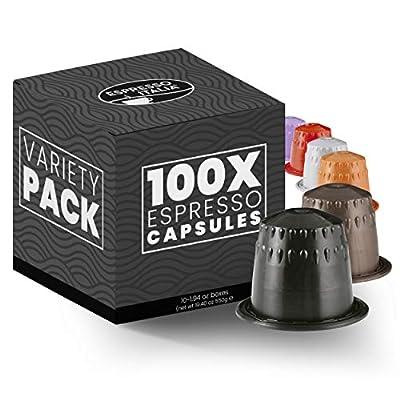 100 Nespresso Compatible Coffee Capsules - Espresso Italia
