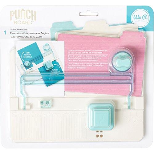 We R Memory Keepers Punch Board Marca, plástico, Multicolor, 10 x 12 x 6 cm, Talla Única