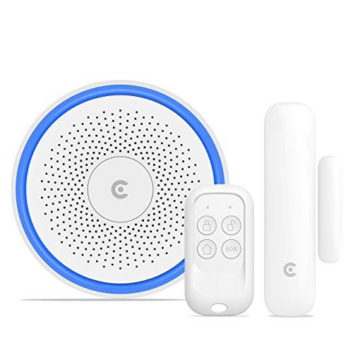 CLARER ® C3 V2.0 Wireless Smart Home Alarm System (Gateway + Sensor + Fernbedienung)