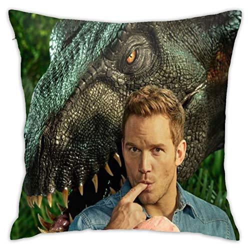Jurassic ParkII Samuel L. Jackson Robert Muldoon Stimulus Favorites Dinosaurier Kissenbezug Kissenbezüge Bezüge Kinder Dinge mit Anti-Falten Wohnzimmer, Bett-Set, Büro Ostern
