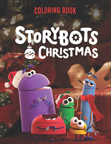 StoryBots christmas Coloring Book: StoryBots Activity Book for Kids: A Fun Kid Workbook Game For Learning, Coloring, and More!