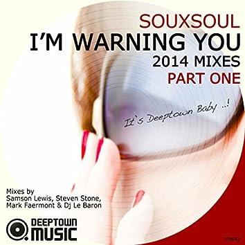 I'm Warning You (2014 Mixes) Pt. 1