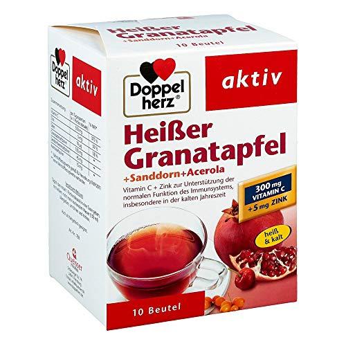 Doppelherz Hei�er Granatapfel + Sanddorn + Acerola aktiv, 10