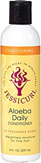 Jessicurl Aloeba Daily Conditioner, 8.0 Fluid Ounce