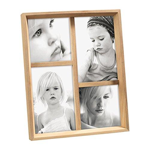 Cadre photo multiple en bois Mascagni Color Bois Blanchi