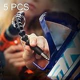 herramientas manuales, Destornillador eléctrico del taladro recargable multifuncional de 5 PCS Varillas flexibles del taladro del esfuerzo de torsión del destornillador dedicado
