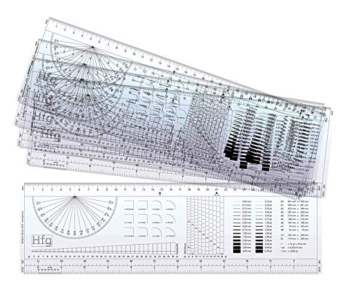 5 Stk. Typometer