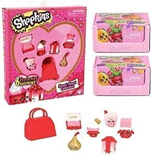 Shopkins Season 4 Valentine's Day Sweetheart Collection (Sweetheart Collection + 2 Season 4 2-Packs)