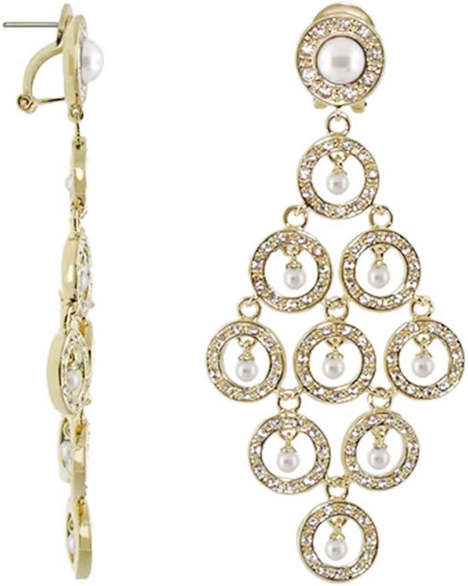 Chandalier Earrings - French Clip