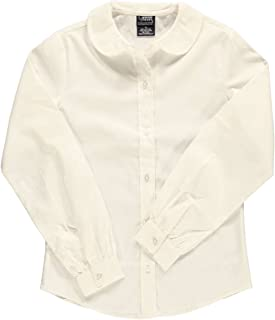 French Toast Big Girls' L/S Peter Pan Blouse