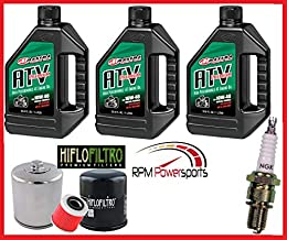 RPM Suzuki Vinson 500 4X4 2004-2007 Engine Oil Change NGK Maintenance KIT