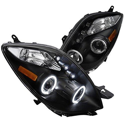 Spec-D Tuning 2LHP-YAR063JM-TM Toyota Yaris 3 Door Hatchback Black Halo