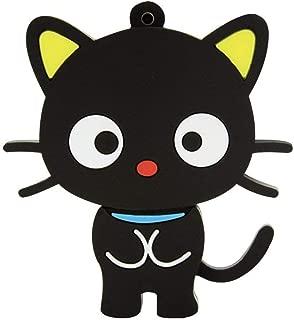 Cute and Novelty Animal Series Standing Cat Shape Design 32GB USB 2.0 Flash Drive Pen Drive Memory Stick Cartoon Thumb Drive Lovely Jump Drive Data Storage U Disk Gift