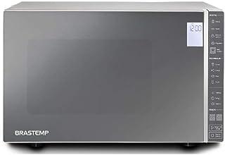 Micro-ondas Brastemp 32 Litros cor Inox Espelhado com Painel Integrado - BMS45CR 110V