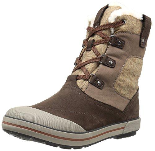 KEEN Men's Targhee II Mid Waterproof Hiking Boot (36 M EU / 6 B(M) US, Espresso/Montana Grape)