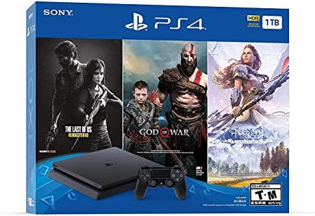 Newest Flagship Sony Play Station 4 1TB HDD Only on Playstation PS4 Console Slim Bundle Included product image