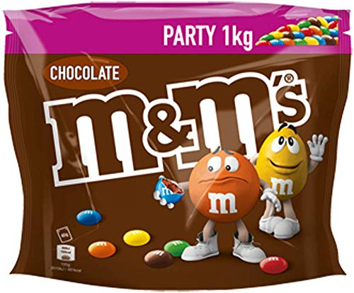 M&M's Chocolate Party Bulk Bag, 1 kg