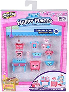 Happy Places Shopkins Decorator Pack Dreamy Bear