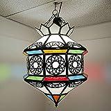Lámpara étnica marroquí lámpara farol árabe oriental 0603191103