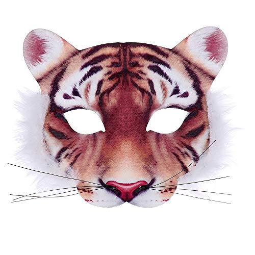 Rappa Mscara de tigre con diseo de tigre