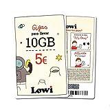 Tarjeta Regalo Lowi – Disfruta de 10GB Extra Tres Meses