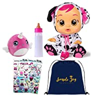 Cry Babies Dotty Baby Doll Gift Set