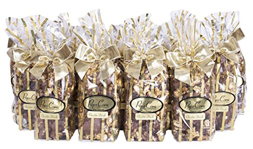 Chocolate Covered Caramel Pops Corn- 20 individual bags