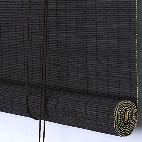 Roll Up Blind Bambusrollo wasserdicht antiseptisch Rollo Schatten Sonnenschutz im Freien, mehrere Größen anpassbar (Farbe: C, Größe: 135x220cm)