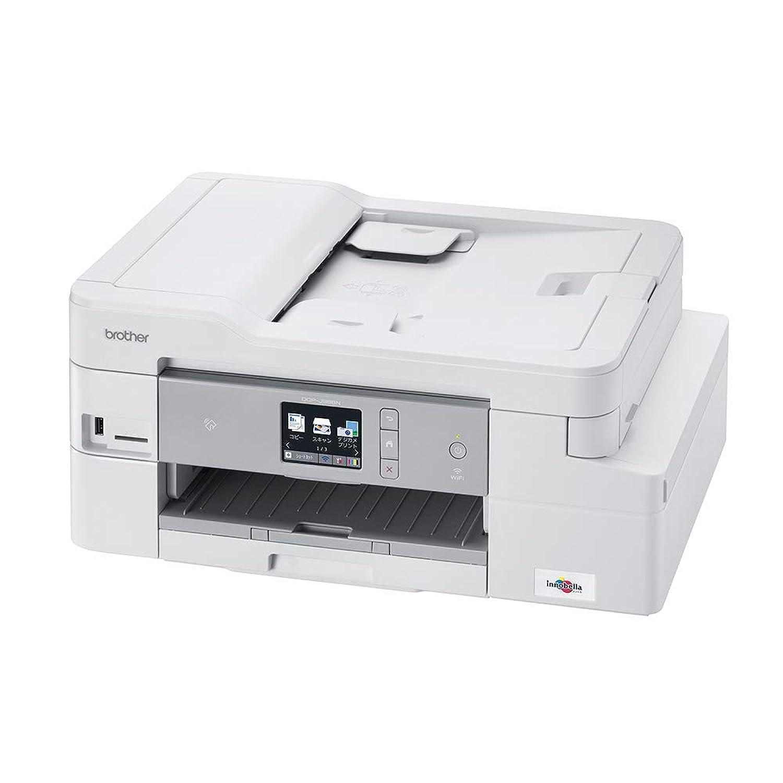 ブラザー プリンター 大容量インク型 A4 インクジェット複合機 DCP-J988N (ADF/有線?無線LAN/手差しトレイ/両面印刷)