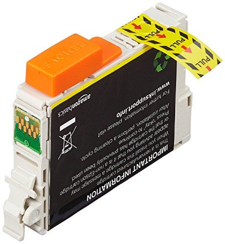 Amazon Basics - Cartucho de tinta regenerado, Epson Apple T129, amarillo