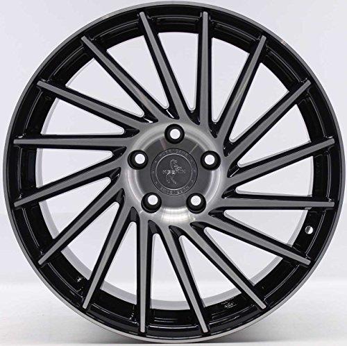 4 llantas de aluminio para Volkswagen Golf R VII 5G Keskin KT17 Hurricane, 8,5 x 19 ET45 KW: 206 + 221