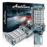 ANTLINE Extremely Bright 921 912 906 T15 W16W LED Bulb Red, CANBUS 48-SMD 4014 Chipsets 1300 Lumens LED Replacement for Car Backup Reverse Center High Mount Stop Light Bulbs(Pack of 2)