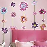 RoomMates RMK1622GM - Vinilo decorativo para pared, diseño de rayas, multicolor