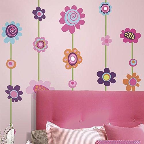 RoomMates 54271 Blumenstreifen