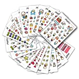 Starting Kit MIX PACK Large Kawaii Planner Stickers, Stickers for Life Planner, Erin Condr...